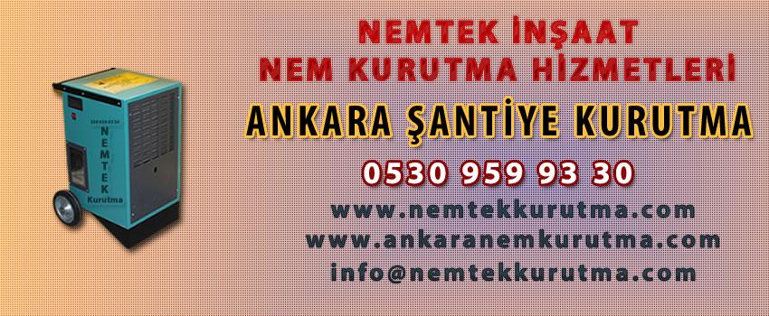 Ankara Şantiye Kurutma