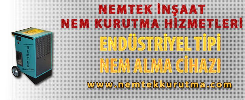 Endüstriyel Tipi Nem Alma Cihazı