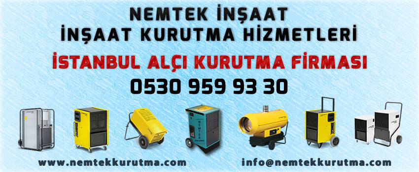İstanbul Alçı Kurutma Firması