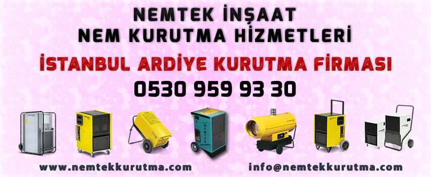 İstanbul Ardiye Kurutma Firması