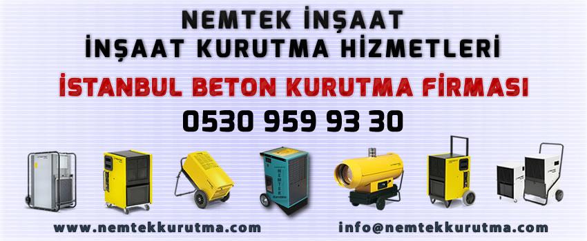 İstanbul Beton Kurutma Firması