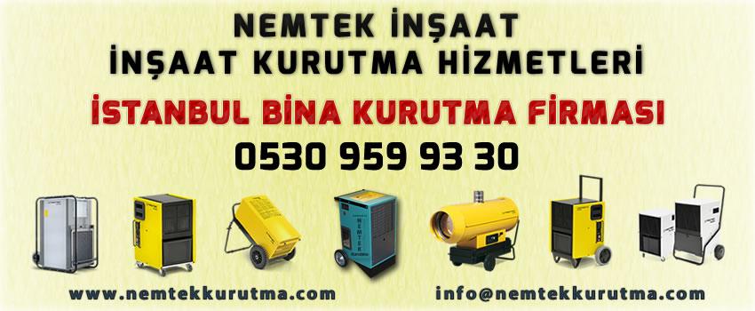 İstanbul Bina Kurutma Firması