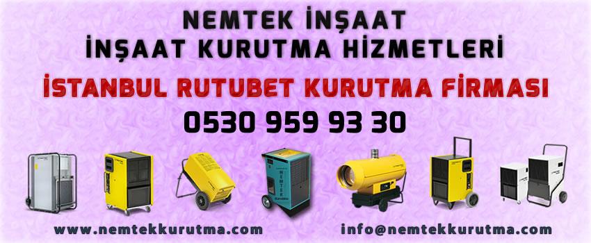 İstanbul Rutubet Kurutma Firması