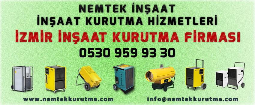 İzmir İnşaat Kurutma Firması