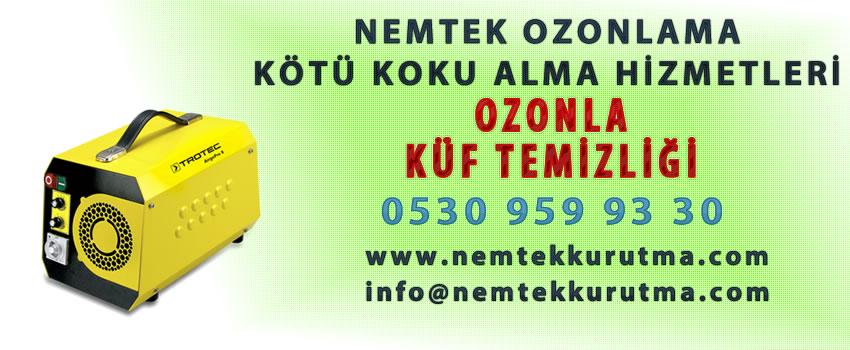 Ozonla Küf Temizliği