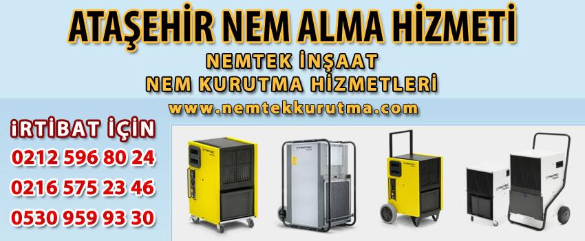 Ataşehir Nem Alma Hizmeti