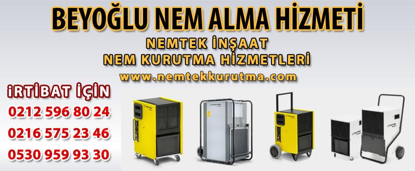 Beyoğlu Nem Alma Hizmeti