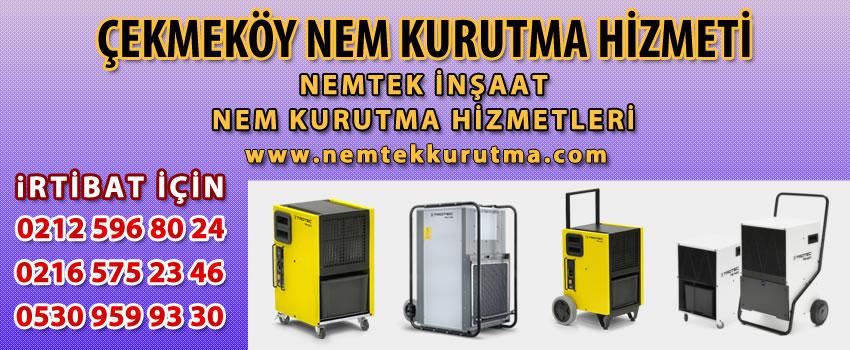 Çekmeköy Nem Kurutma Hizmeti
