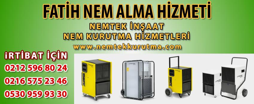Fatih Nem Alma Hizmeti