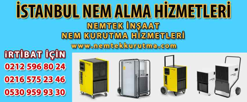 İstanbul Nem Alma Hizmetleri