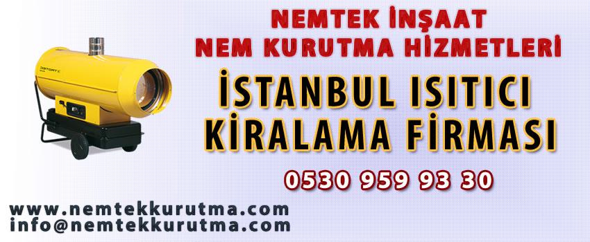 İstanbul Isıtıcı Kiralama Firması