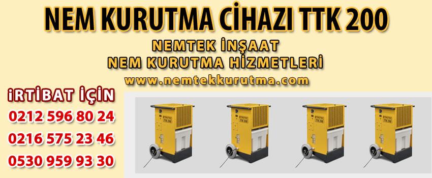 Nem Kurutma Cihazı TTK 200